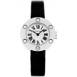 Cartier Love 18K White Gold Ladies Watch WE800131