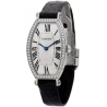 Cartier Tonneau 18K White Gold Diamond Ladies Watch WE400131