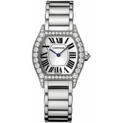 Cartier Tortue Francaise Gold Diamond Ladies Watch WA5072W9