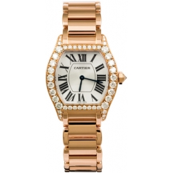 Cartier Tortue Francaise Gold Diamond Ladies Watch WA50703I