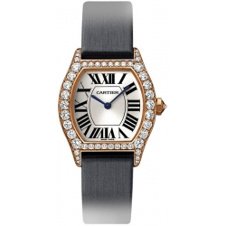 Cartier Tortue Francaise Gold Diamond Ladies Watch WA507031