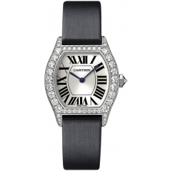 Cartier Tortue Francaise Gold Diamond Ladies Watch WA507231
