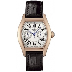 Cartier Tortue Collection 18K Rose Gold Ladies Watch W1540751