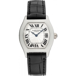 Cartier Tortue Collection Platinum Ladies Watch W1540351