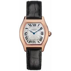 Cartier Tortue Collection 18K Rose Gold Ladies Watch W1540251