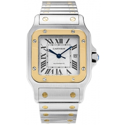Cartier Classic Santos Series Mens Watch W20058C4