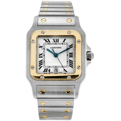 Cartier Classic Santos Series Mens Watch W20011C4