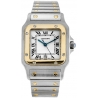 Cartier Classic Santos Two Tone Gold Mens Watch W20011C4