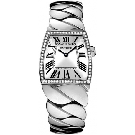 Cartier La Dona Diamond 18K White Gold Large Watch WE60019G