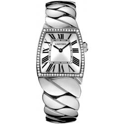 Cartier La Dona Diamond 18K White Gold Large Watch WE60019G