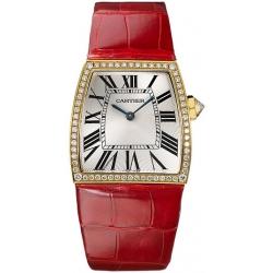 Cartier La Dona 18K Yellow Gold Diamond Ladies Watch WE600251