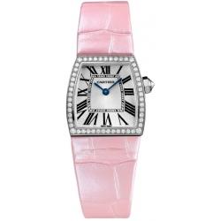 Cartier La Dona Ladies 18K White Gold Diamond Watch WE600351