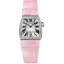 Cartier La Dona Ladies 18K White Gold Diamond Watch WE600351