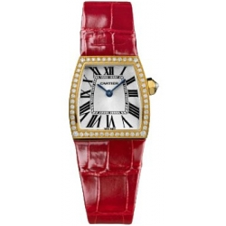 Cartier La Dona 18K Yellow Gold Diamond Ladies Watch WE600451