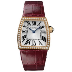 Cartier La Dona 18K Rose Gold Diamond Ladies Watch WE600551