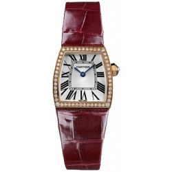 Cartier La Dona 18K Rose Gold Diamond Ladies Watch WE600651