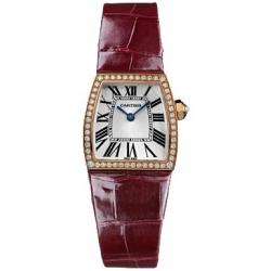 Cartier La Dona 18K Rose Gold Diamond Ladies Watch WE600651