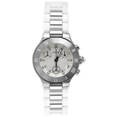 Cartier Must 21 Series Chronograph Womens Watch W10197U2