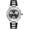 Cartier Must 21 Series Black Rubber Mens Watch W10125U2