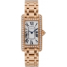 WB7079M5 Cartier Tank Americaine 18K Rose Gold Bracelet Watch