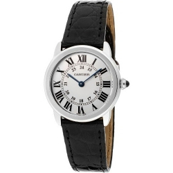 Cartier Ronde Solo Quartz 29mm Womens Watch W6700155