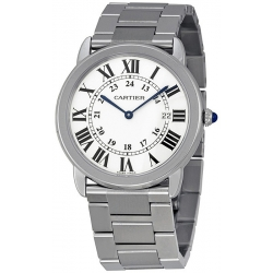 Cartier Ronde Solo Quartz Steel 36 mm Ladies Watch W6701005