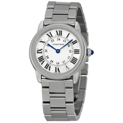 Cartier Ronde Solo Quartz Steel 29 mm Womens Watch W6701004