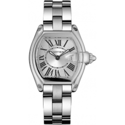 Cartier Roadster Steel Bracelet Womens Watch W62016V3