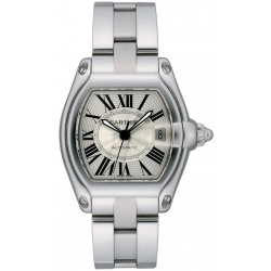 Cartier Roadster Series Stainless Steel Mens Watch W62025V3