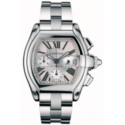 Cartier Roadster Series Stainless Steel Mens Watch W62019X6