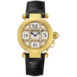 Cartier Pasha Series Yellow Gold Womens Watch WJ11951G