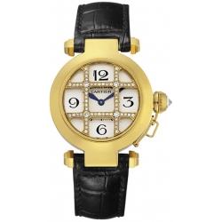 Cartier Pasha Series Yellow Gold Womens Watch WJ11951G