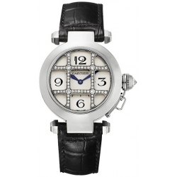 Cartier Pasha Series White Gold Womens Watch WJ11932G