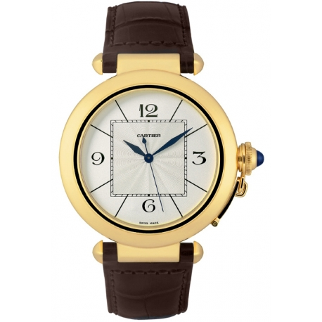 Cartier Pasha Series 18K Yellow Gold Mens Watch W3019551