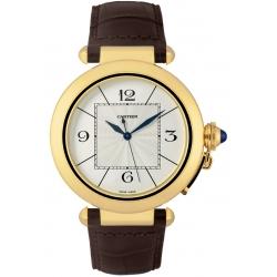 Cartier Pasha Series 18K Yellow Gold Mens Watch W3019551