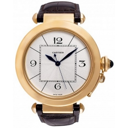 Cartier Pasha 18kt Rose Gold Mens Watch W3019051