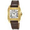 Cartier New Santos Series Yellow Gold Mens Watch W20071Y1