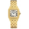 Cartier New Santos 18K Yellow Gold Unisex Watch W25062X9