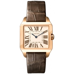 Cartier Santos Dumont 18kt Rose Gold Ladies Watch W2009251