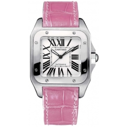 Cartier Santos 100 Unisex Stainless Steel Watch W20126X8