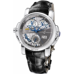 Ulysse Nardin Sonata Cathedral 18K White Gold Mens Watch 670-88/212