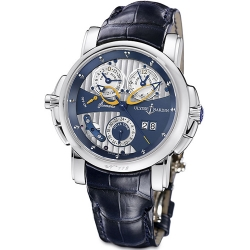 Ulysse Nardin Sonata Cathedral Mens White Gold Watch 670-88/213