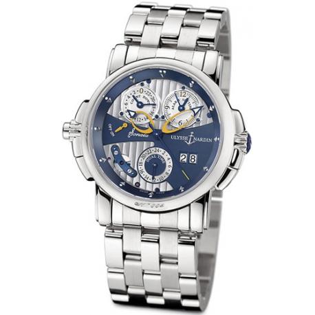 Ulysse Nardin Sonata Cathedral Mens Bracelet Watch 670-88-8/213
