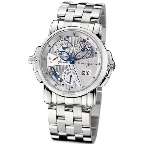 Ulysse Nardin Sonata Cathedral White Gold Mens Watch 670-88-8