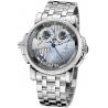 Ulysse Nardin Sonata Silicium Gold Bracelet Mens Watch 670-85-8