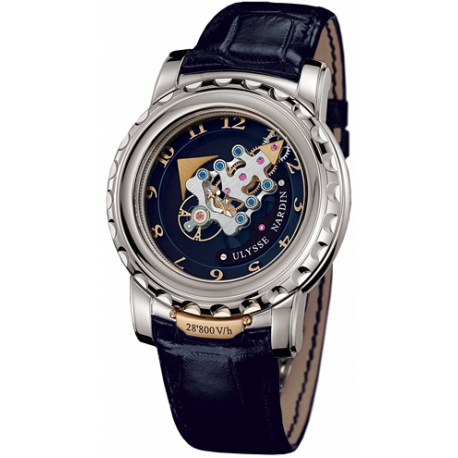 Ulysse Nardin The Freak Mens 18K White Gold Watch 020-88