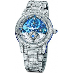 Ulysse Nardin Royal Blue Tourbillon Platinum Mens Watch 799-99