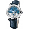 Ulysse Nardin Royal Blue Tourbillon Platinum Mens Watch 799-80