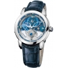 Ulysse Nardin Royal Blue Tourbillon Platinum Mens Watch 799-82