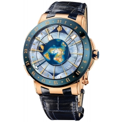 Ulysse Nardin Trilogy Moonstruck Mens Watch 1062-113